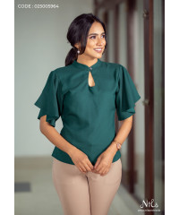 BELL SLEEVE OFFICE TOP